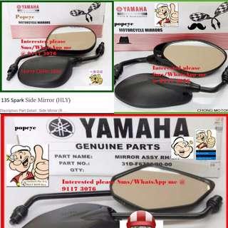0106** YAMAHA Genuine Parts **Side Mirror** Spark, FZ16, Jupiter MX, SNIPER 150, Etc....