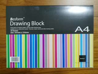 A4 Drawing Block