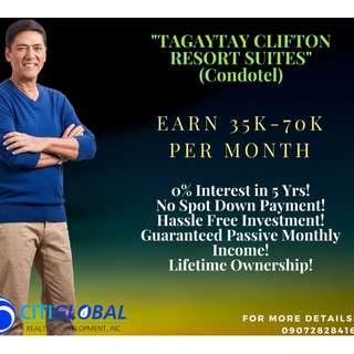 CONDOTEL in Tagaytay