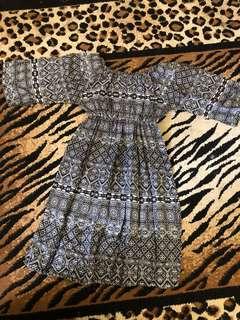 BEACH DRESS / DRESS PANTAI / DRESS SABRINA / DRESS TRIBAL / BAJU PANTAI / BAJU SABRINA