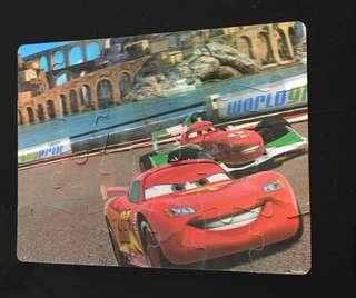 Lightning McQueen/ Disney Cars Lenticular puzzle