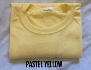 REPRICED!! Pastel Yellow Oversized Shirt