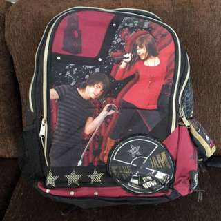 DISNEY BAG / TAS DISNEY / DISNEY BACKPACK / RANSEL DISNEY / MILLEY CYRUS / JONAS BROTHER