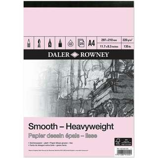 Daler Rowney Smooth Heavyweight Paper Pad