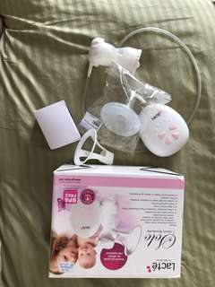 Breast pump and bag