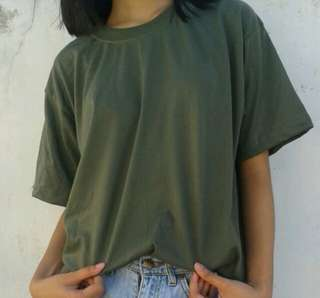 REPRICED! Army Green Oversized Shirt