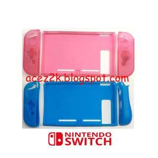 [BNIB] Nintendo Switch HQ 3-Piece Clear TPU Soft Casing (Brand New Boxed)