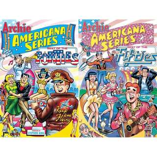 Archies The Americana series 40's 50's