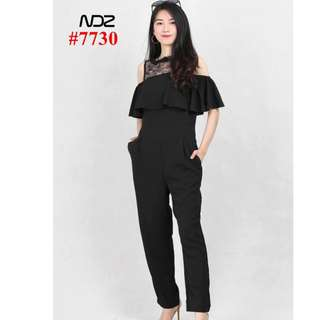 LACE JUMPSUIT 2ND ALBUM 7730#