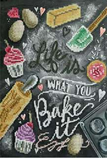 Life Is what you bake it 5D Diamond Art Painting (DIY)