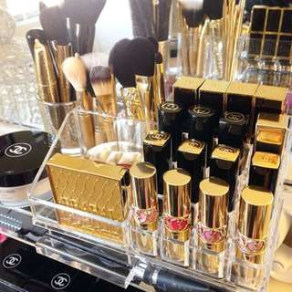 Makeup Organizer Acrylic Elegance Series Clear