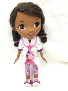 Auth Doc McStuffins talking and singing doll