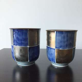 2 Japanese Ceramic Cups
