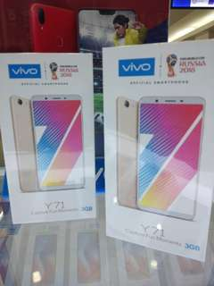 Vivo Y71 Ram3gb Free Power Bank + Anti gores