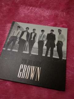 2PM 3rd Album Grown 2013