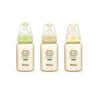 Simba Ultra Light Standard Neck Glass Feeding Bottle (4 Sizes Available)