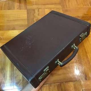 70-80 年代 公事包「喼神」極具收藏價值 經典再現 電影 電視劇 微電影 道具必備 vintage briefcase James Bond