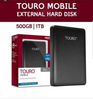 !!!Warehouse Clearance !!!!Touro (HGST) 1TB external HDD