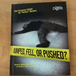 Reader's Digest Jumped, Fell Or Pushed?