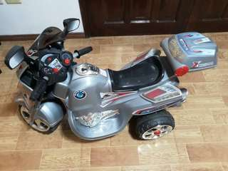 Heavy duty chargeable motorcycle