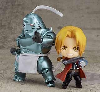Fullmetal Alchemist Elric Brothers Nendoroid