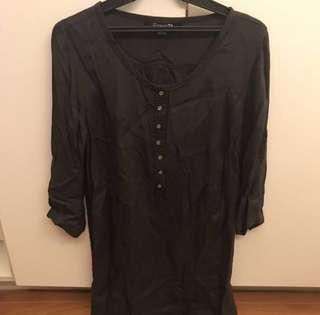 Forever 21 gray long top/short dress