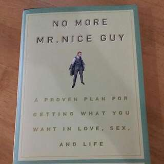 No More Mr Nice Guy (Robert Glover) Hardcover