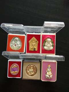 6 brand new amulets at $120