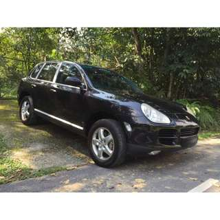 2004 PORSCHE CAYENNE S 4.5 V8 FOR SALE!