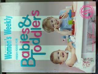 Babies & Toddlers Recipes book