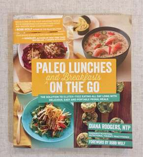 Paleo Lunches and Breakfast on the go