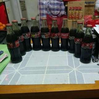 Coca Cola 可口可樂 - 美國玻璃樽10枝