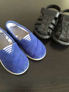 Bundle Children shoes from 18 months - 2,5 years