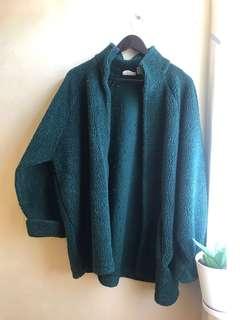 winter jacket dark green