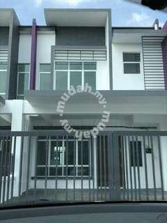 Rumah untuk dijual Meranti Bandar Hillpark Puncak Alam zero deposit