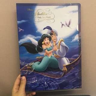 迪士尼File 茉莉公主阿拉丁