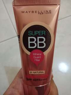 Maybelline Super BB Super Cover SPF 50/PA+++ (normal to dry)