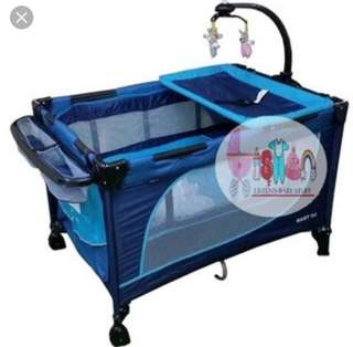 Baby 1st portable crib