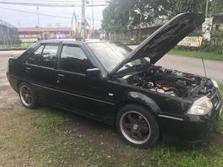 Proton saga tahun 2007 1.3 manual sale raya rm 5k all in