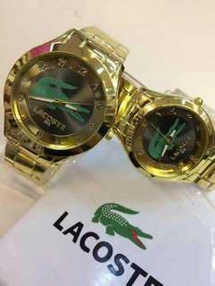Couple Watch casio /lacoste