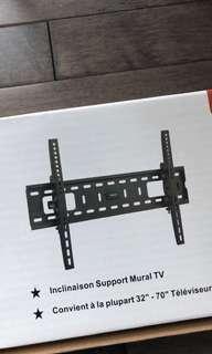 Tilting Tv wall mount.
