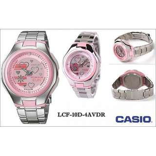ORIGINAL PINK CASION 1 YEAR WARRANTY