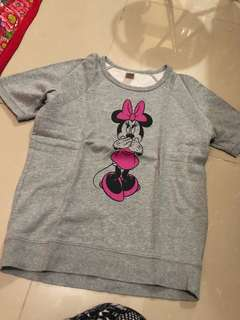 Uniqlo minnie mouse top