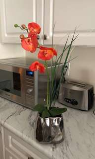 Faux orchid plant. Real touch