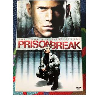 First season of Prison Break DVD