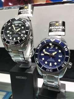 代購 香港 行貨 日本seiko watch AUTOMATIC DIVER's 200m 小MM SBDC031 SBDC033