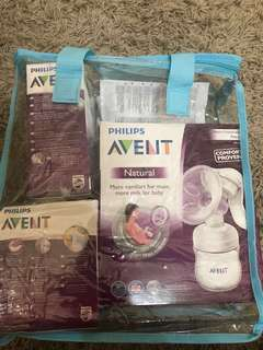 Natural Breast Pump Manual (Just Buy- used 1 time only)