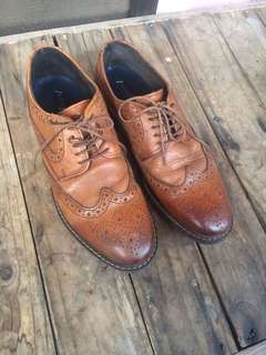 Leather brogues marks and spencer autograph wingtip