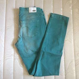 Levi's Green Trousers