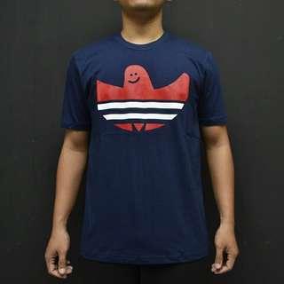 Kaos Adidas Navy